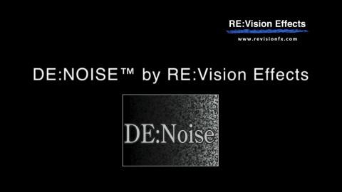 DE:Noise Overview Reel