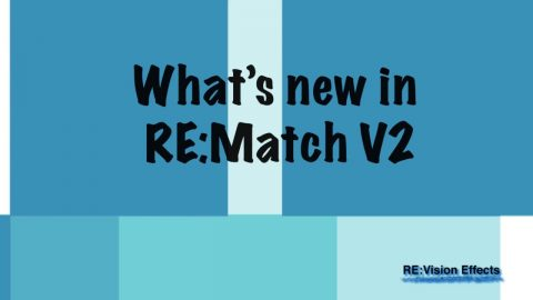 See what's new in RE:Match v2!